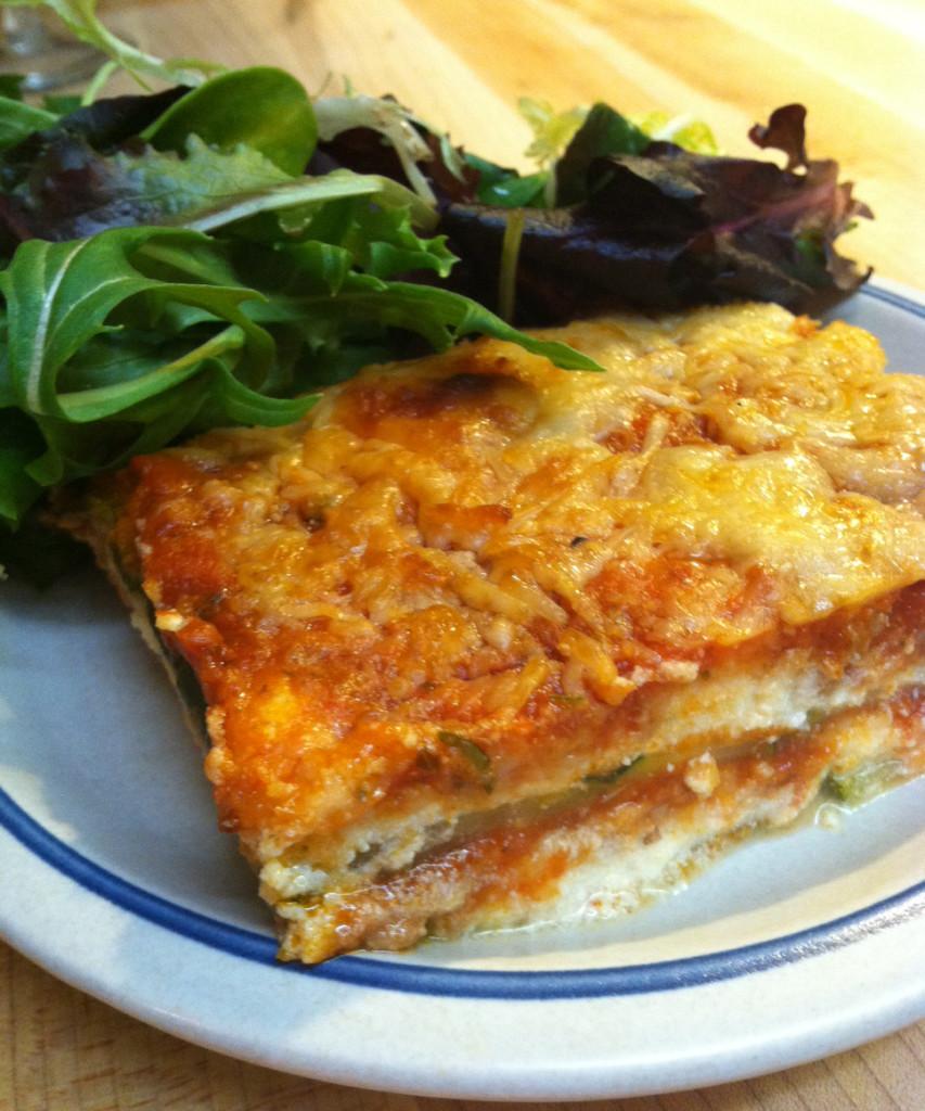 Zucchini Lasagna | My Daily Bubble