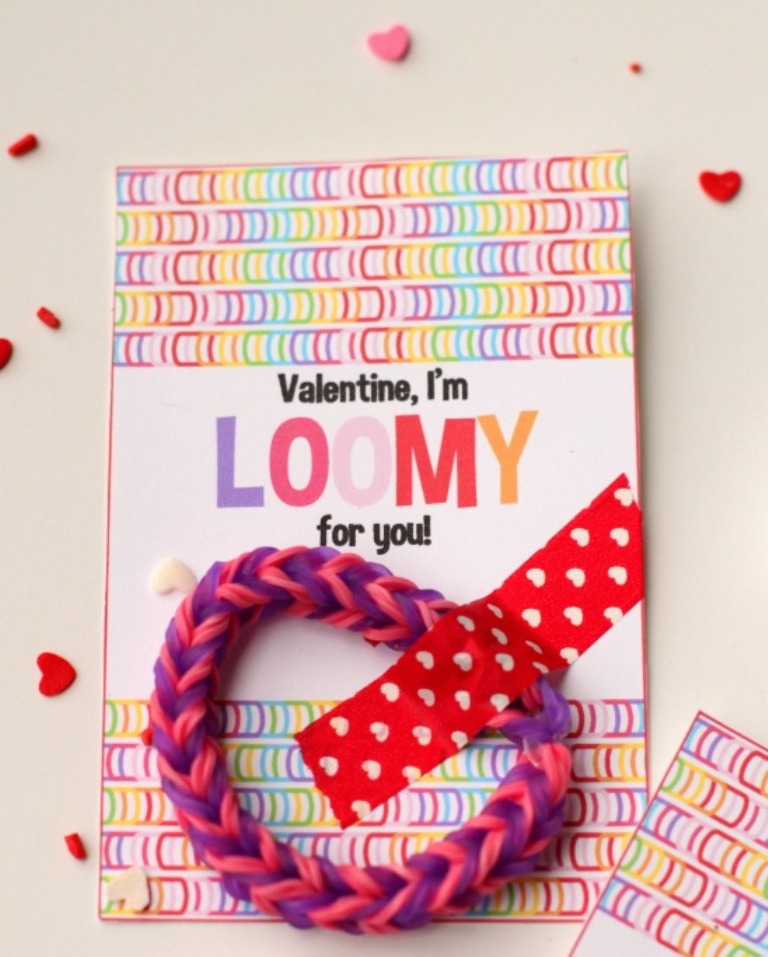 Washi-Tape-and-Loom-Braclets
