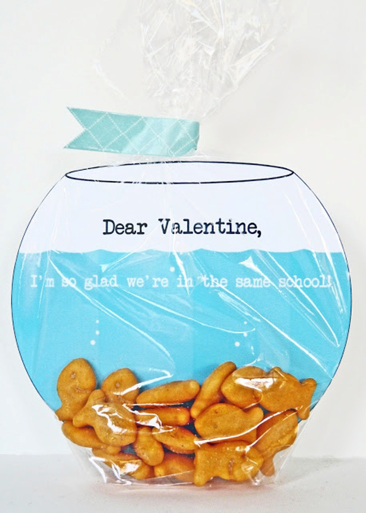 goldfish bowl valentine - cover