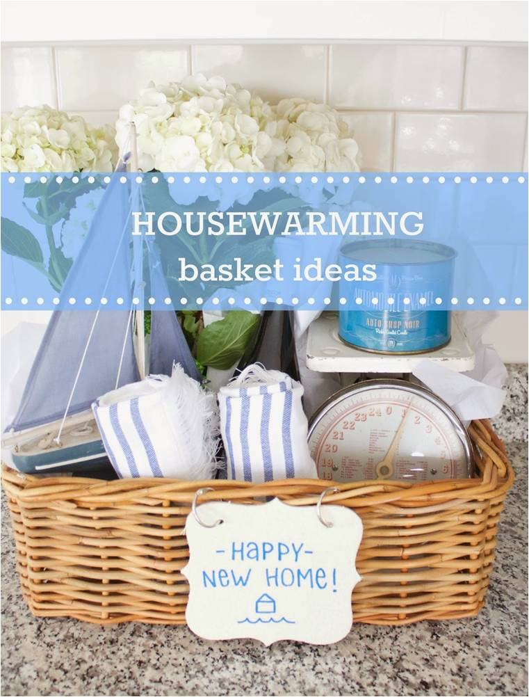 I filled the basket with things that help make a house feel like a home  a  nice candle  a plant  a bottle of wine  new hand towels  and a couple  unique  Housewarming Basket Ideas Any Homeowner Would Want  . Gift Basket Ideas For Welcome Home. Home Design Ideas
