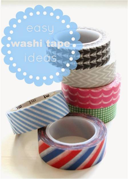 Ways To Use Washi Tape