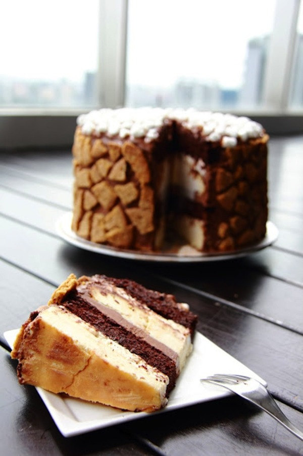 S'More Layer Cake