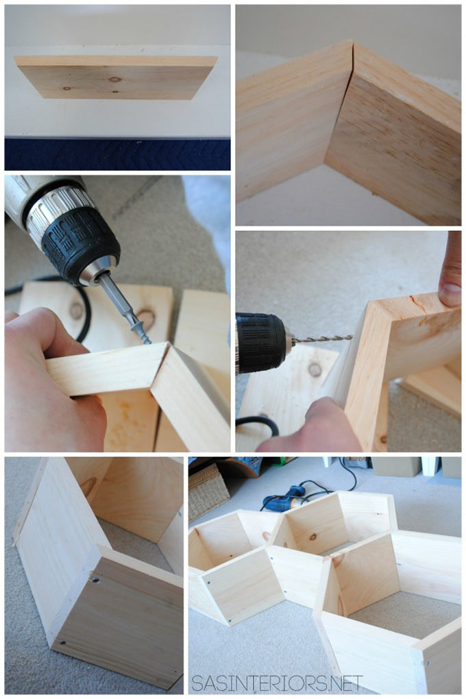 Assembling-Shelves