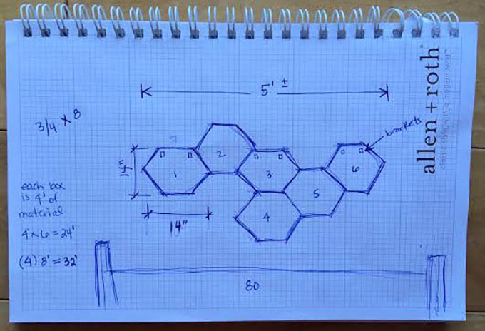 Honeycomb-Sketch