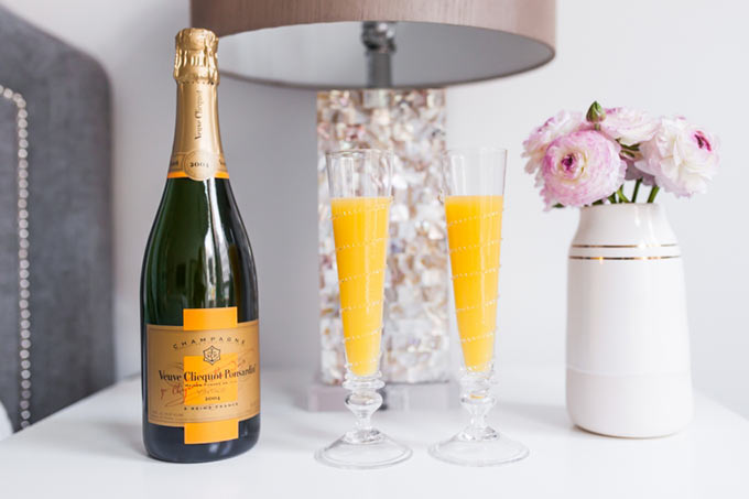Mimosas-with-Veuve-Clicquot-Champagne-for-Valentines-Day-by-Fashionable-Hostess
