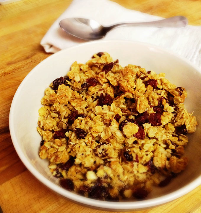 Making-Granola