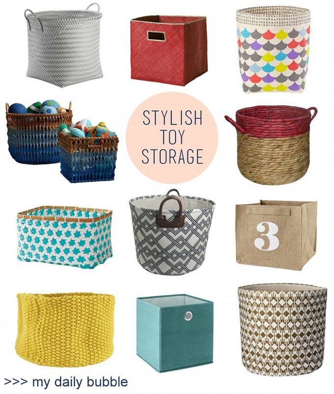 Charmant Left To Right: Target MultiColor Round / Serena U0026 Lily Pandan Bins / Land  Of Nod Scallop Bin / Land Of Nod Fade Up Rattan Basket / Target Wicker With  Coral ...