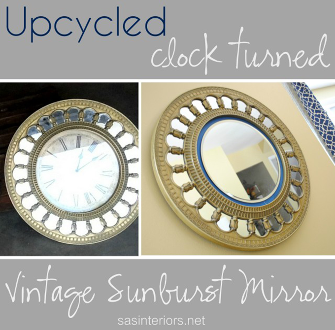Upcycled-Clock