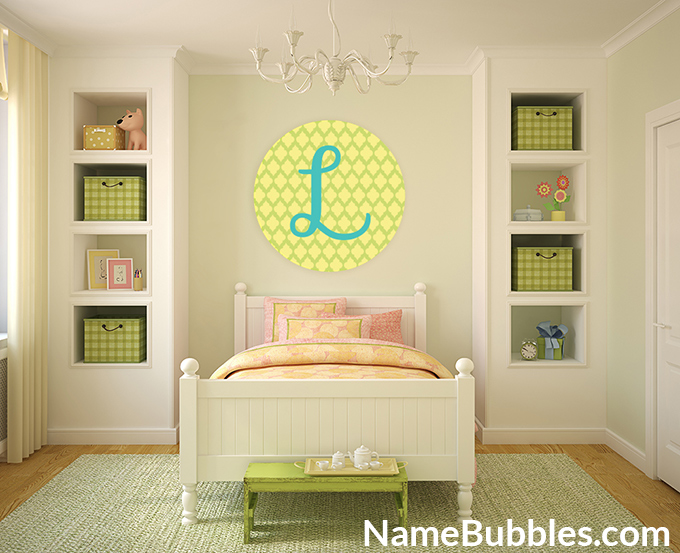 Easy Decorating with Letter Wall Decals -