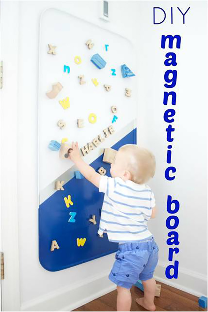 make your own magnetic boards
