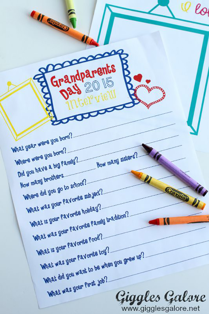 Ways to celebrate Grandparents Day