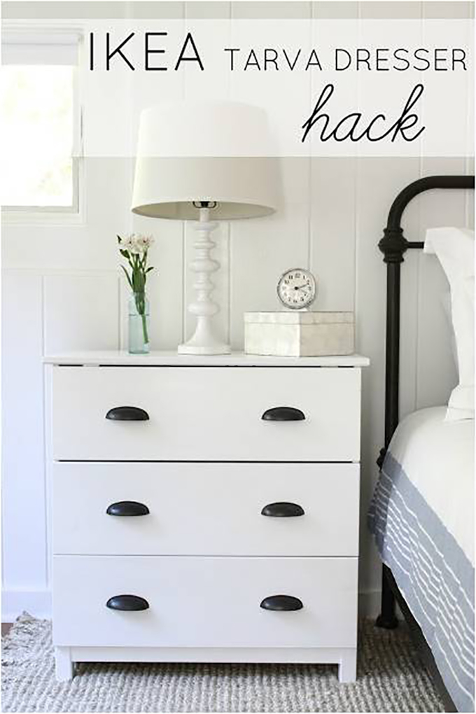 ikea tarva nightstand height. Black Bedroom Furniture Sets. Home Design Ideas