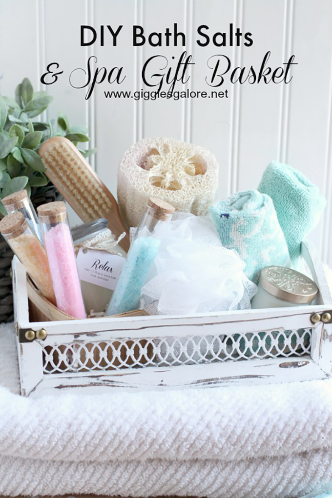 Handmade Bath Gift Basket : Hands down best mother s day gift