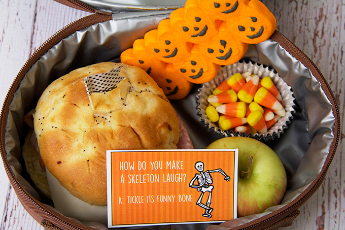 Lunchbox Notes for Halloween